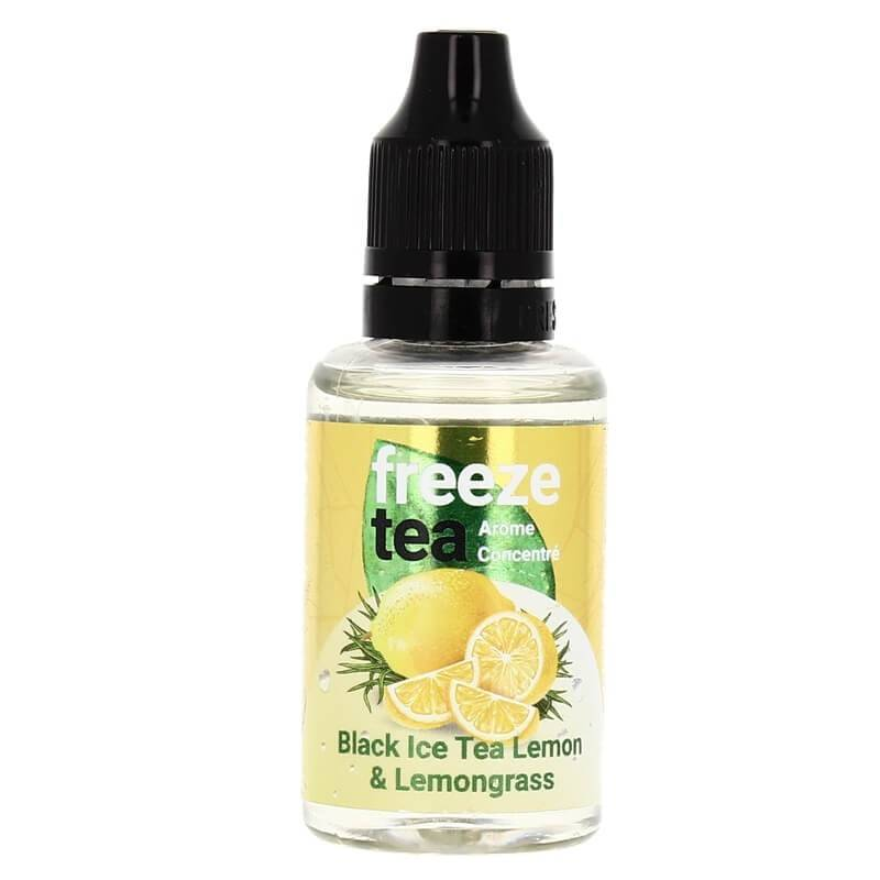 Freeze Tea Mint Black Ice Tea Lemon & Lemongrass - 30 ml