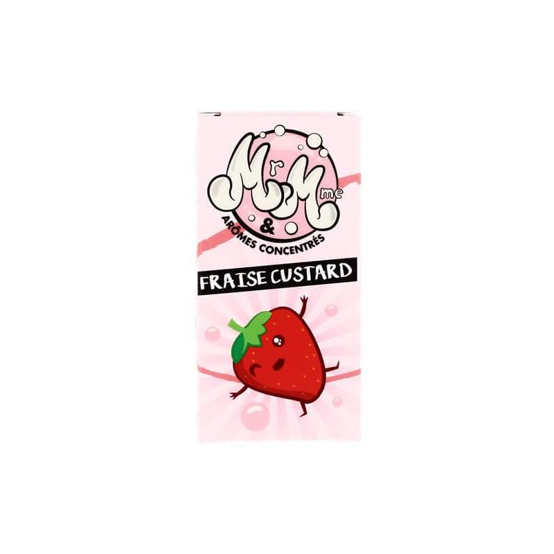 Mr & Mme Fraise Custard - 30ml