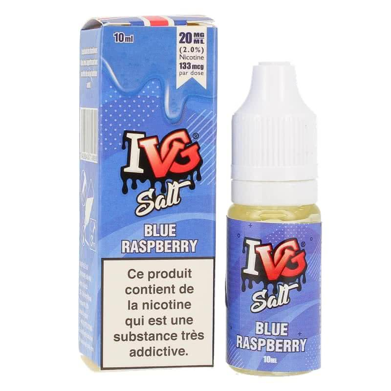 IVG Salt Blue Raspberry 20mg 10 ml