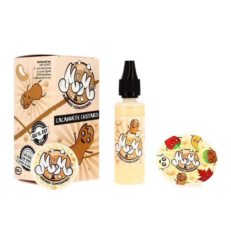 Mr & Mme Cacahuète Custard - 30 ml